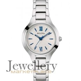 Ladies Bulova Quartz Bracelet Watch (96L215)